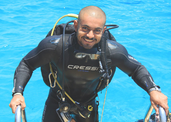 Dive Hurghada Instructor Ahmed