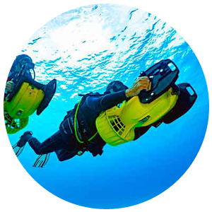 PADI Diver Propulsion Vehicle Specialty (Scooter)