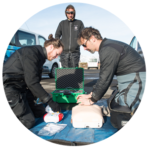 PADI Emergency First Response Specialty